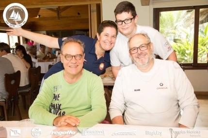 confraternização no YCSA Pasta Family & Borba