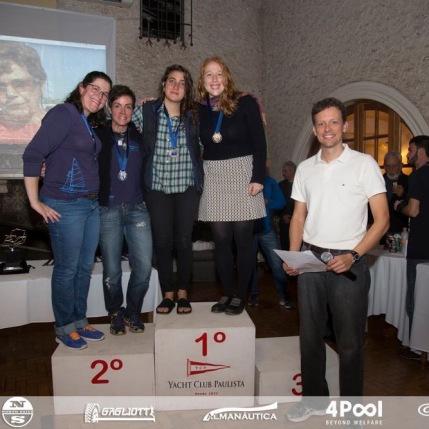 premiação da Categoria Feminina