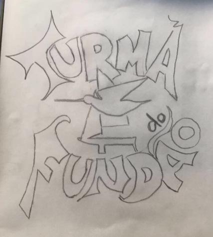 comecei de novo, peguei o primeiro desenho e passei pro papel vegetal
